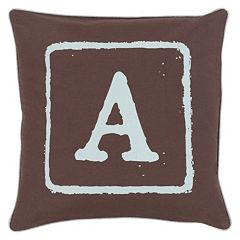 Decor 140 Alpha Throw Pillow