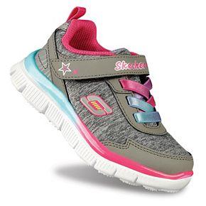 Skech Appeal Lil Flyer Toddler Girls' Athletic Shoes Skechers - gray