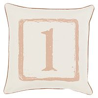 Decor 140 Uno Throw Pillow