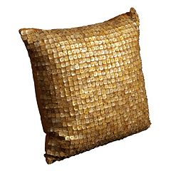 Mina Victory 20'' x 20'' Button Throw Pillow