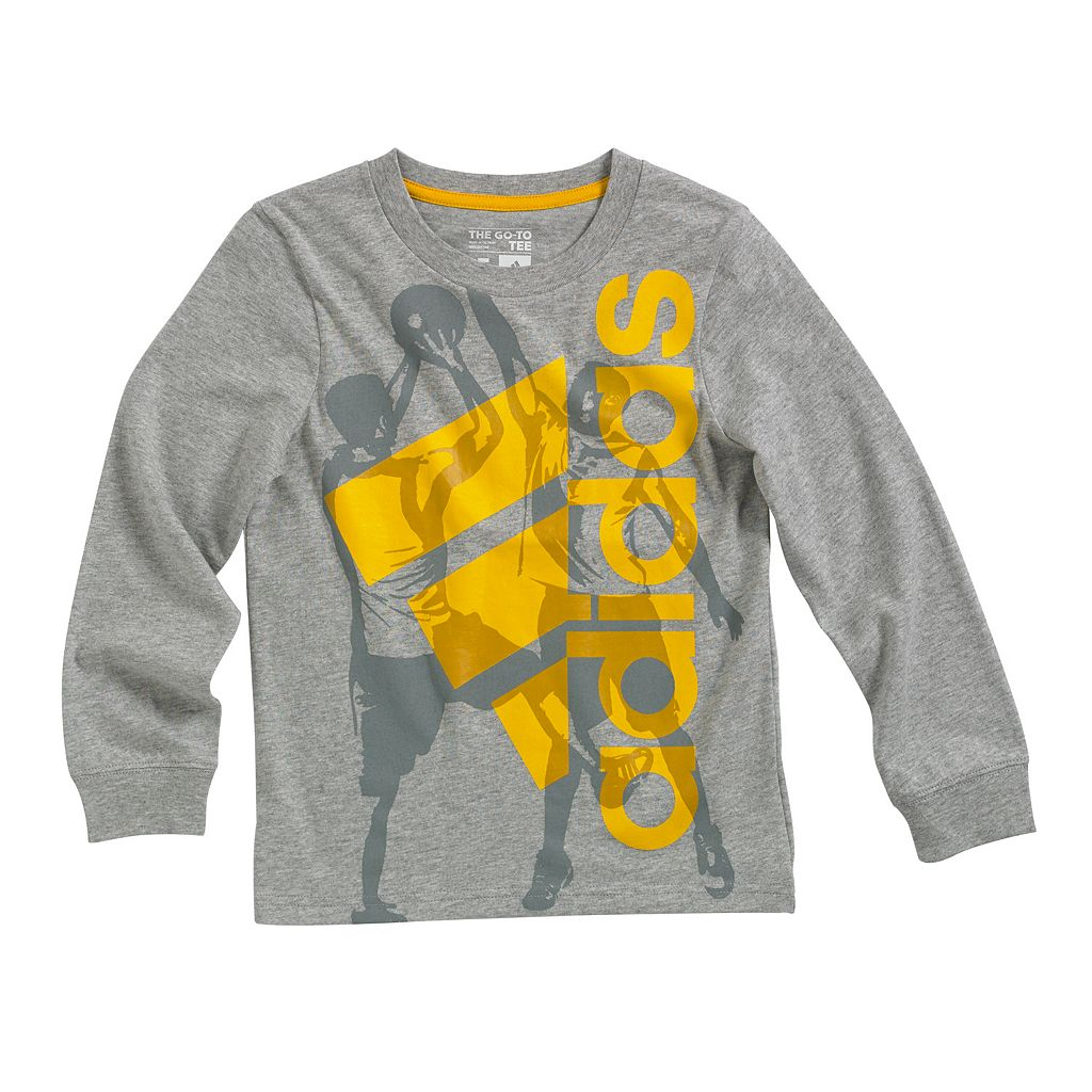 Boys 4-7x adidas Go-To Sports Player Tee