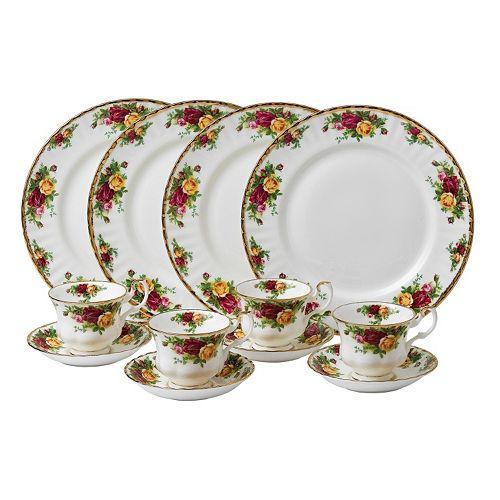 Royal Albert Old Country Roses 12-pc. Dinnerware Set