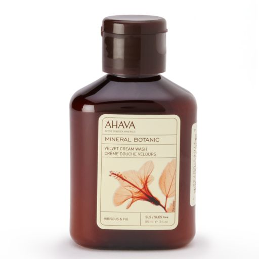 AHAVA Mineral Botanic Hibiscus & Fig Cream Body Lotion - Travel Size