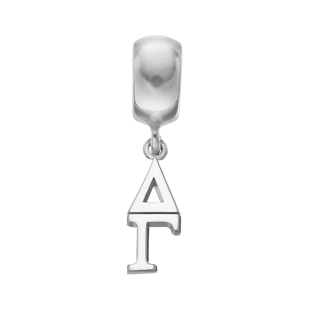LogoArt Sterling Silver Delta Gamma Sorority Charm