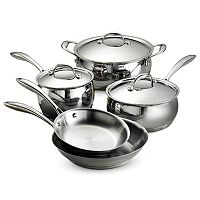 Tramontina Gourmet Domus Tri-Ply Stainless Steel 8-pc. Cookware Set