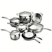 Tramontina Gourmet Domus Tri-Ply Stainless Steel 13 pc Cookware Set