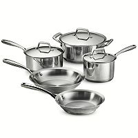 Tramontina Gourmet Prima Tri-Ply Stainless Steel 8 pc Cookware Set