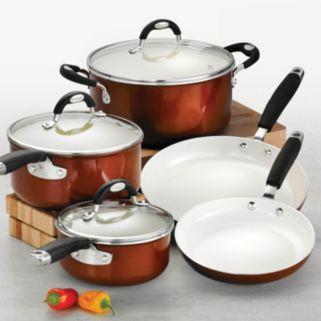 Tramontina Style Ceramica 8-pc. Cookware Set