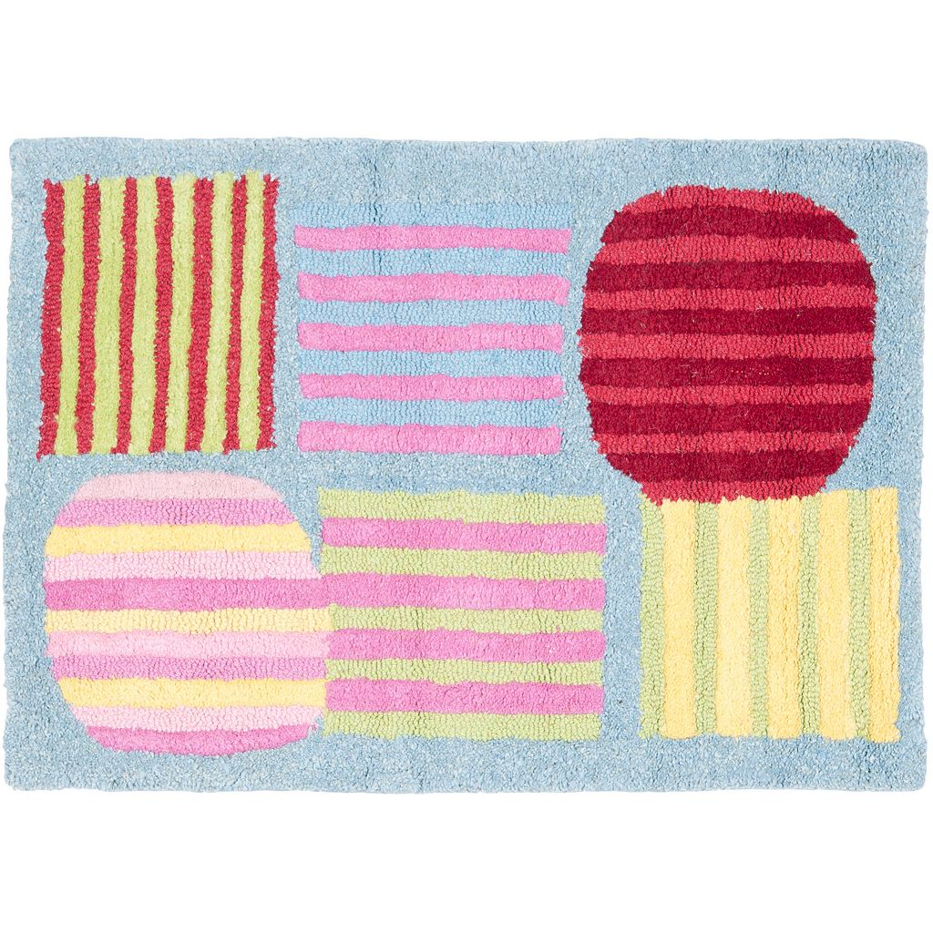 Safavieh Kids Stripe Patch Rug
