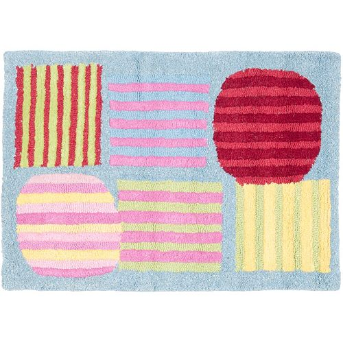 Safavieh Kids Stripe Patch Rug