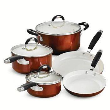 Tramontina Style Ceramica 10 Pc Cookware Set