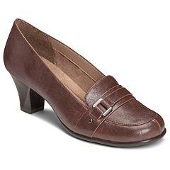 A2 by Aerosoles Culinari Women's Buckle Heels by