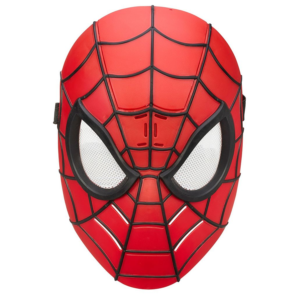 Marvel Ultimate Spider-Man Web Warriors Wise Cracking Spidey Mask by Hasbro