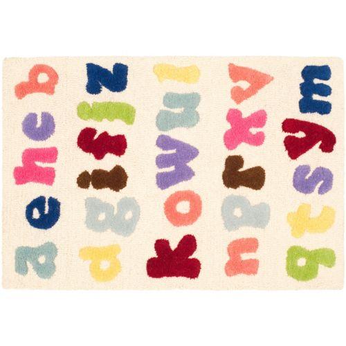 Safavieh Kids Alphabet Soup Rug