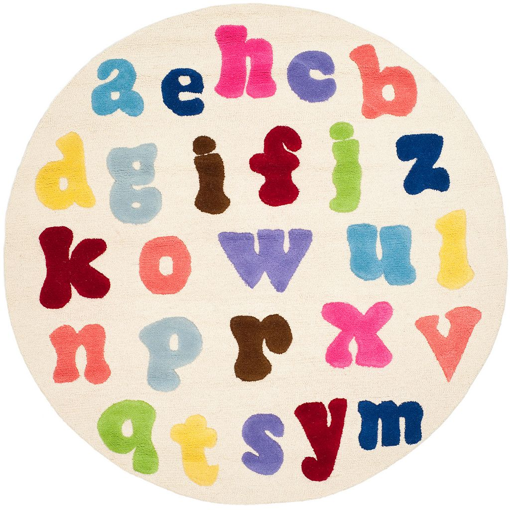 Safavieh Kids Alphabet Soup Rug