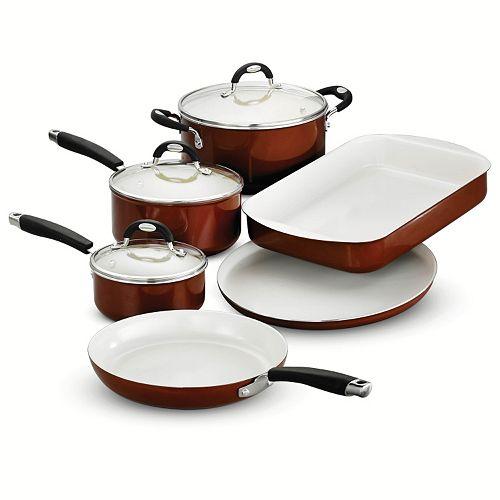 Tramontina Style Ceramica 9-pc. Cookware & Bakeware Set