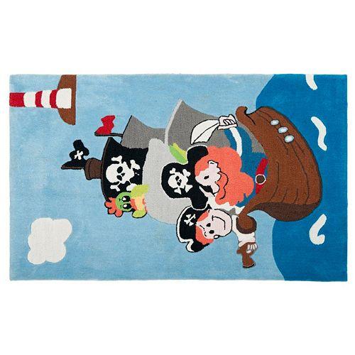 Safavieh Kids Ships Ahoy Rug