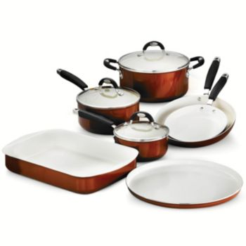 Tramontina Style Ceramica 10-pc. Cookware / Bakeware Set