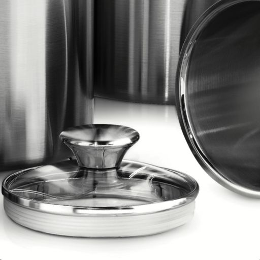 Tramontina Gourmet 8-pc. Stainless Steel Kitchen Canister Set