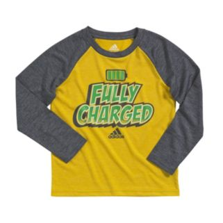"Boys 4-7x adidas ""Fully Charged"" climalite Tee"