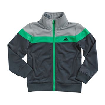 Boys 4-7x adidas Tricot Colorblock Jacket
