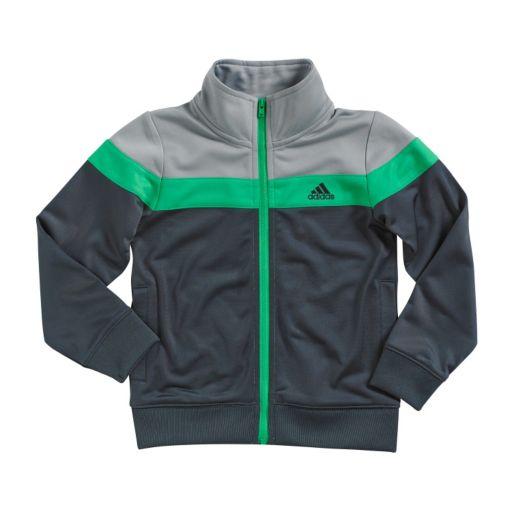 Boys 4-7x adidas Tricot Colorblock Jacket