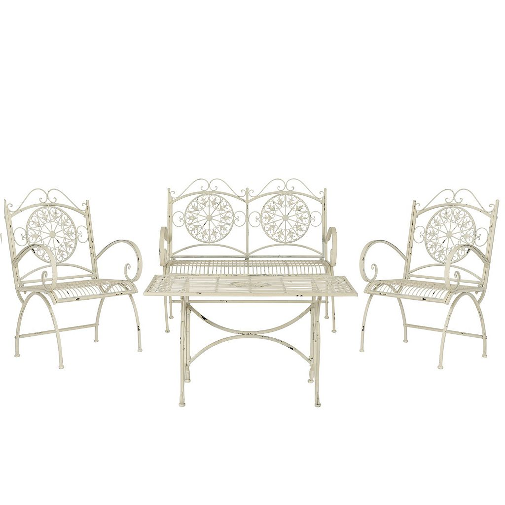 Safavieh Sophie 4-piece Outdoor Furniture Set