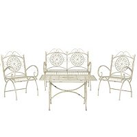 Safavieh Sophie 4 pc Outdoor Furniture Set