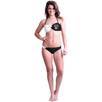 Women's Brooklyn Nets Bandeau Bikini