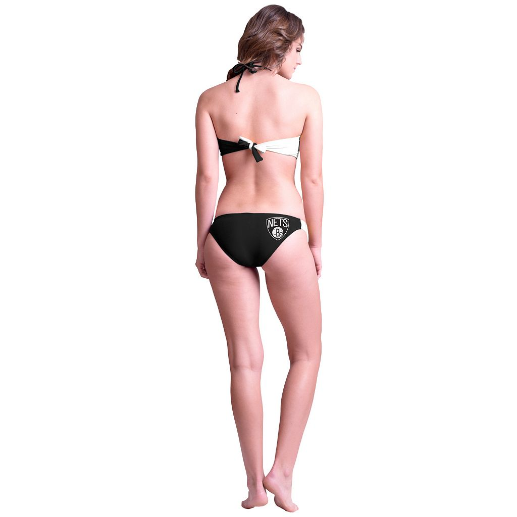 Women's Brooklyn Nets Bandeau Bikini