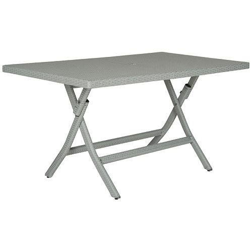 Safavieh Dilettie Rectangle Folding Table