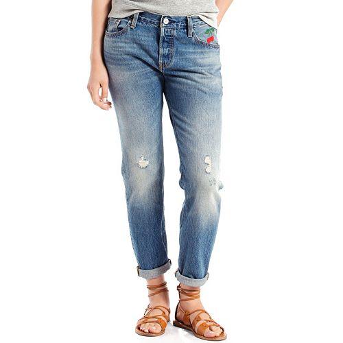 great fit exclusive deals cheap sale Women's Levi's® 501® CT Boyfriend Jeans