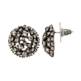 GS by gemma simone Parisian Treasures Collection Dome Stud Earrings