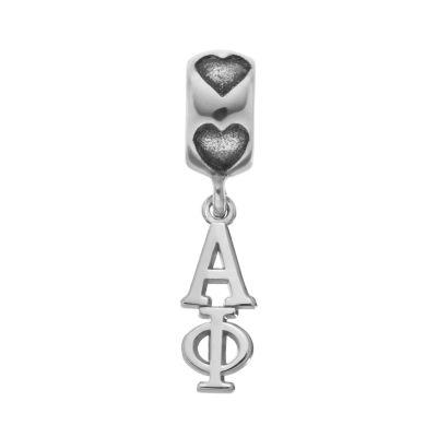 LogoArt Sterling Silver Alpha Phi Sorority Charm