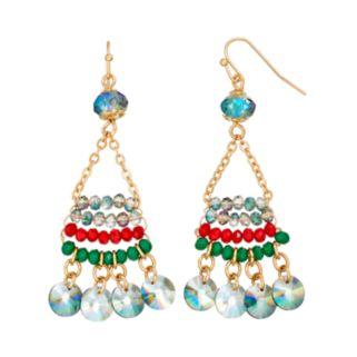 GS by gemma simone Sedona Sunset Collection Bead Drop Earrings