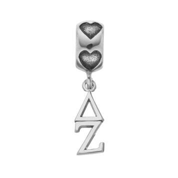 LogoArt Sterling Silver Delta Zeta Sorority Symbol Charm