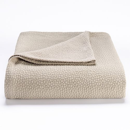 Willow Collection Pebbled Matelasse Coverlet