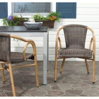 Safavieh Dagny 2-piece Arm Chair Set
