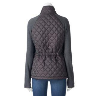 Women's Weathercast Quilted Stretch Fleece Raglan Jacket