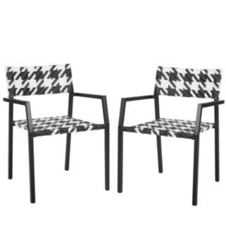 Safavieh Halden 2-piece Arm Chair Set