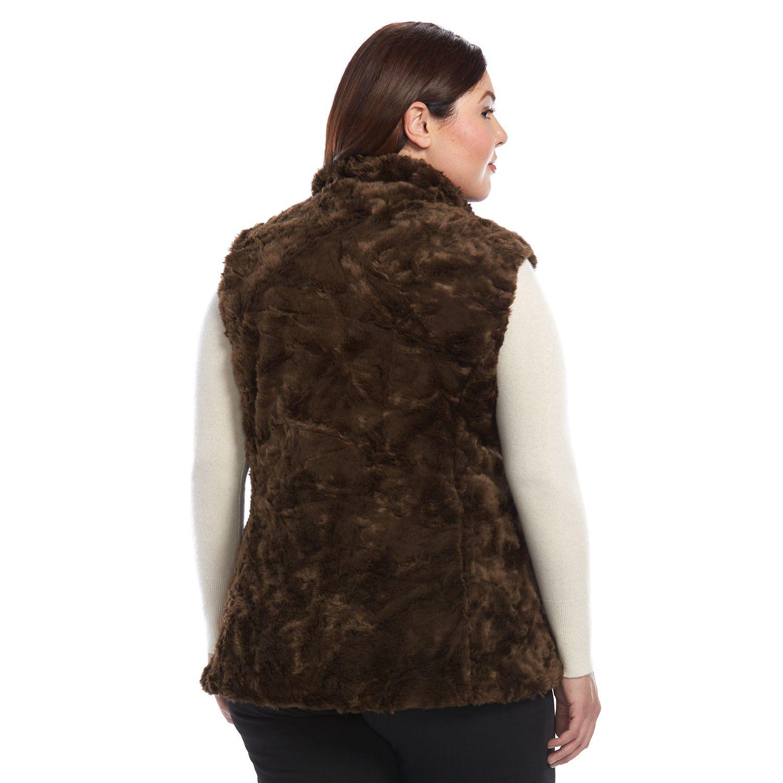 c5cb5faec977 Womens Faux Fur Coats   Jackets - Outerwear