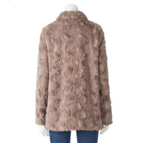 Women's Weathercast Faux-Fur Jacket