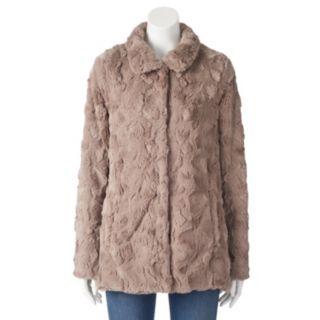 Women's Weathercast Faux-Fur Jacket