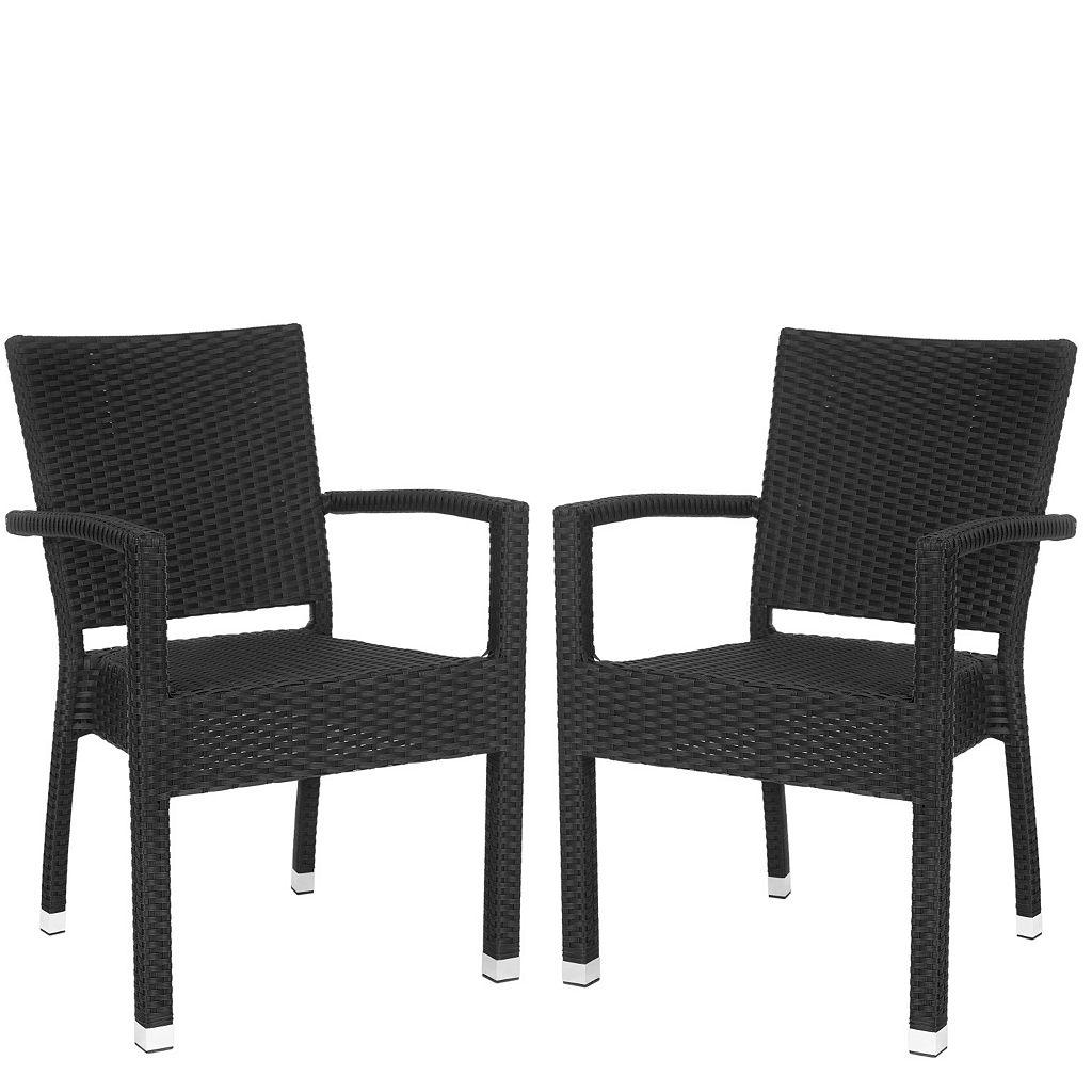 Safavieh Kelda 2-piece Arm Chair Set
