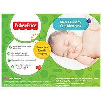 Fisher-Price Sweet Lullaby Crib Mattress
