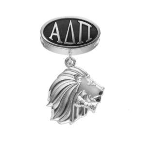 LogoArt Alpha Delta Pi Sterling Silver Sorority Symbol Charm
