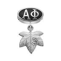 LogoArt Alpha Phi Sterling Silver Sorority Symbol Charm