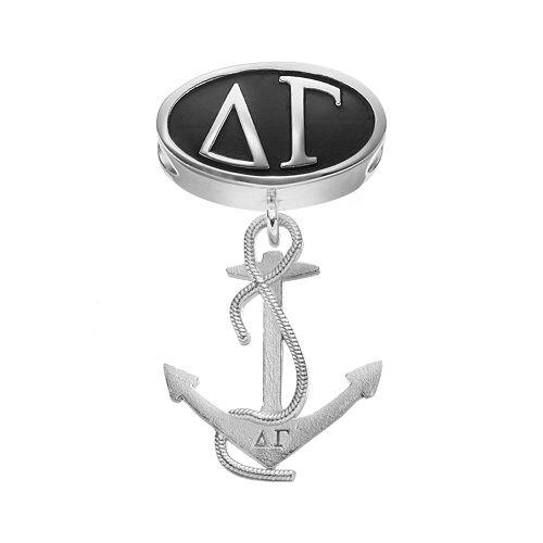 LogoArt Delta Gamma Sterling Silver Sorority Symbol Charm