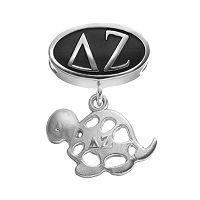 LogoArt Delta Zeta Sterling Silver Sorority Symbol Charm