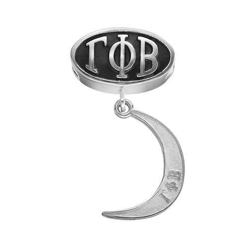 LogoArt Gamma Phi Beta Sterling Silver Sorority Symbol Charm
